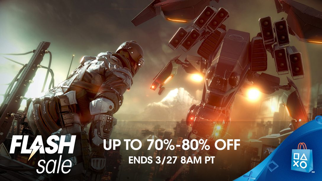 Flash Sale: Save 70% or More on the Entire Lineup