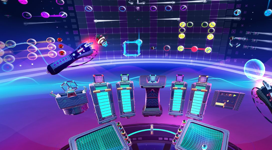Construct a beat and unleash the music in Track Lab, coming soon to PlayStation VR