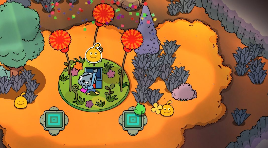 Next month's PS4 action RPG The Swords of Ditto features a LocoRoco crossover quest