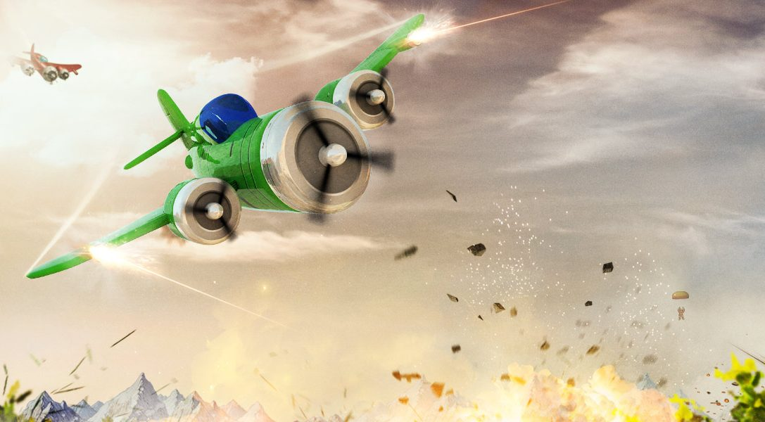Procedurally-generated aerial arcade shooter Rogue Aces blasts onto PS4, PS Vita next month