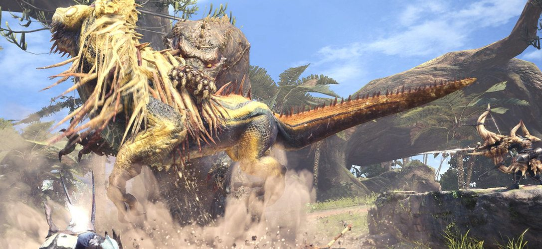 Monster Hunter: World's latest threat, The Deviljho, joins the PS4 action RPG in today's 2.00 update
