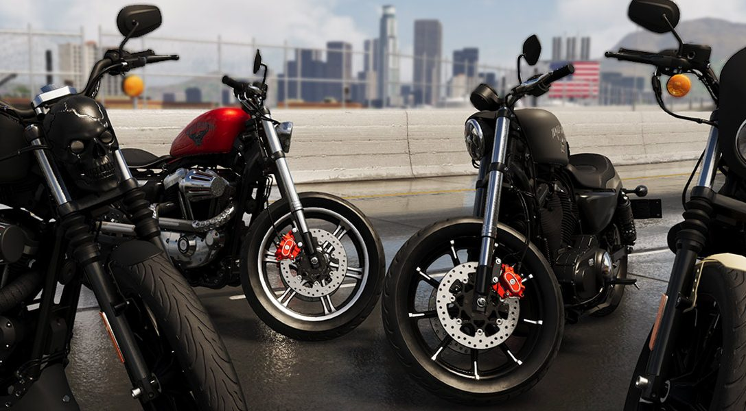 Celebrate The Crew 2's release date announcement with a closer look at the Harley-Davidson Iron 883
