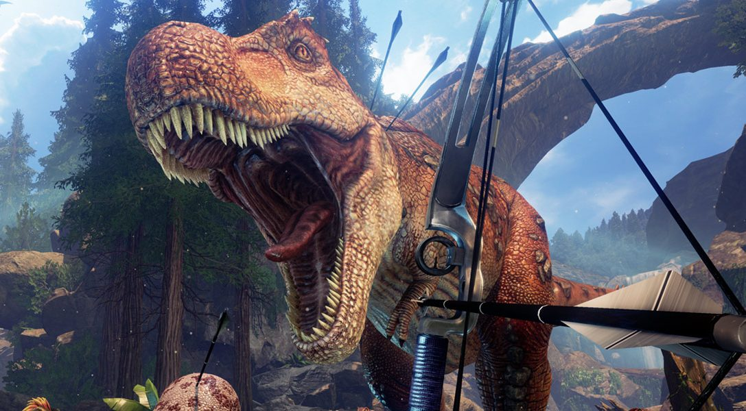 Breed and ride dinos in Ark: Survival Evolved PS VR tie-in Ark Park, out this month