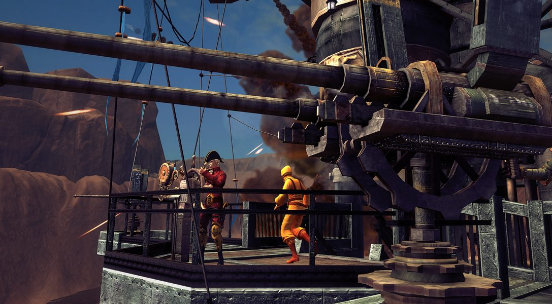 Team-based steampunk airship shooter Guns of Icarus Alliance comes to PS4 on 1st May, 2018