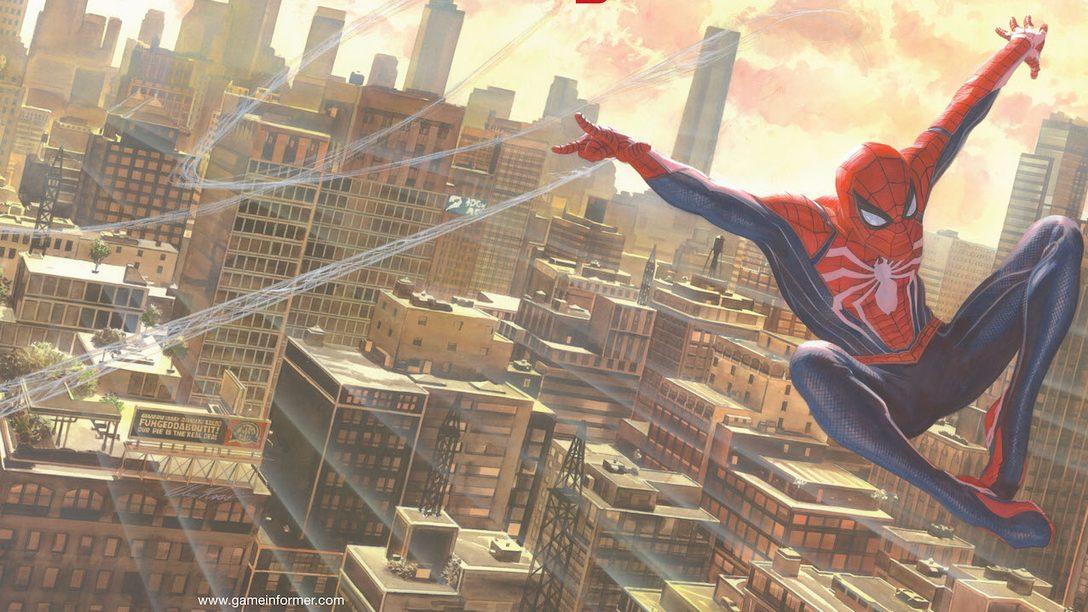 Game Informer's May Cover Revealed: Marvel's Spider-Man