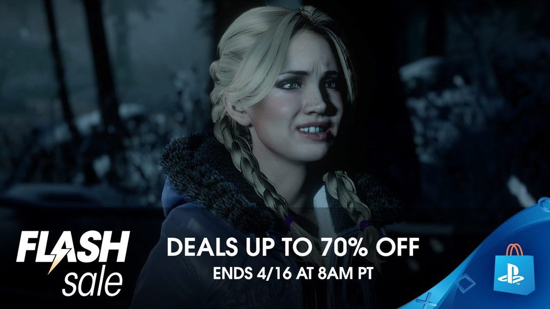 Flash Sale! PS Store Offers Up Scary Good Deals