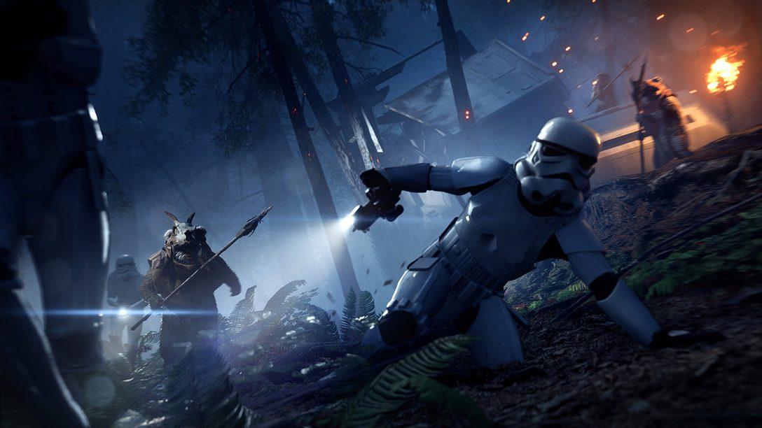 Star Wars Battlefront II Night on Endor Update, Limited-Time Ewok Hunt Mode