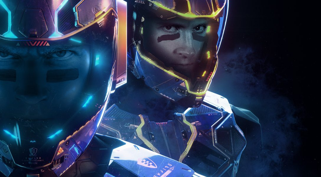 Ready your reflexes for the high-speed multiplayer action of Laser League, out on PS4 next month