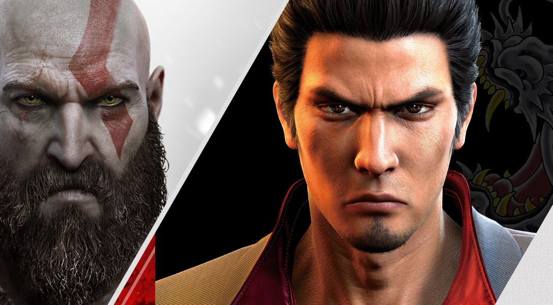 God of War and Yakuza 6 headline this week's new PlayStation Store releases
