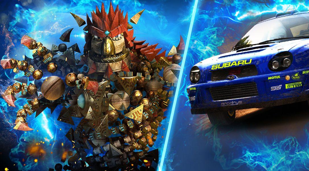 Dirt Rally, Yakuza 4, Knack headline PlayStation Now's April line-up