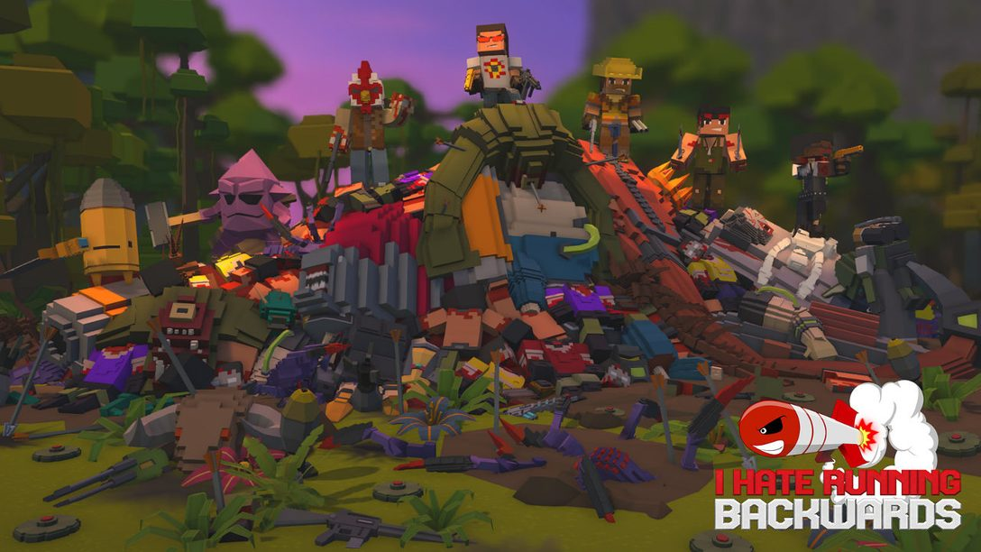 I Hate Running Backwards Launches May 22 on PS4