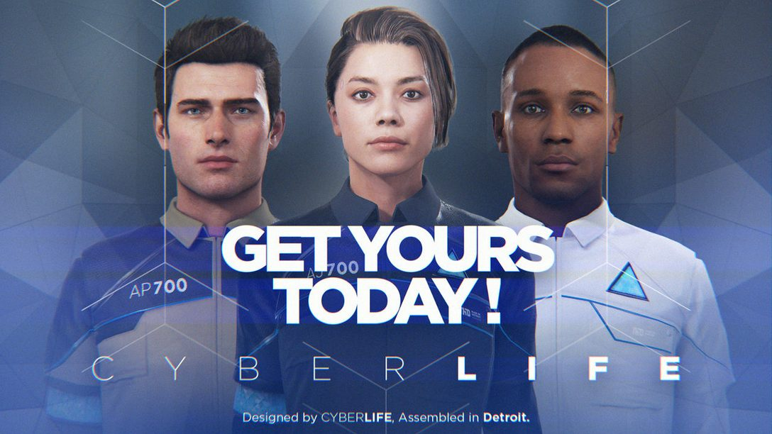 3 New Shorts Set the Stage for Detroit: Become Human