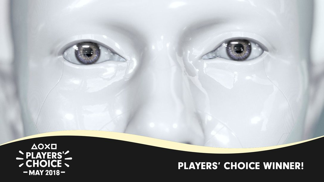 Players' Choice May 2018 Winner: Detroit: Become Human