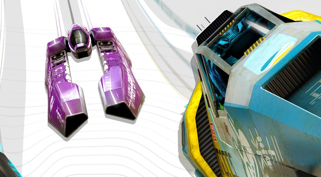 Wipeout Omega Collection demo is available for download from tomorrow
