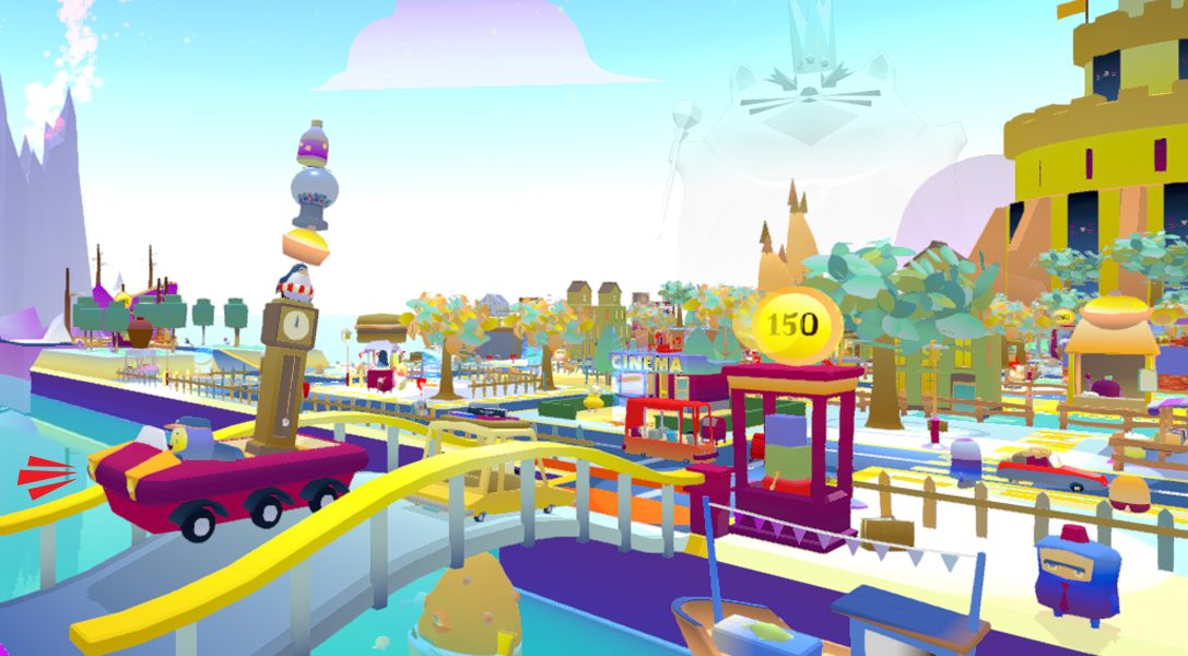 Stack the goods high and dodge traffic in arcade game Beep! Beep! Deliveries, out on PS4 this summer