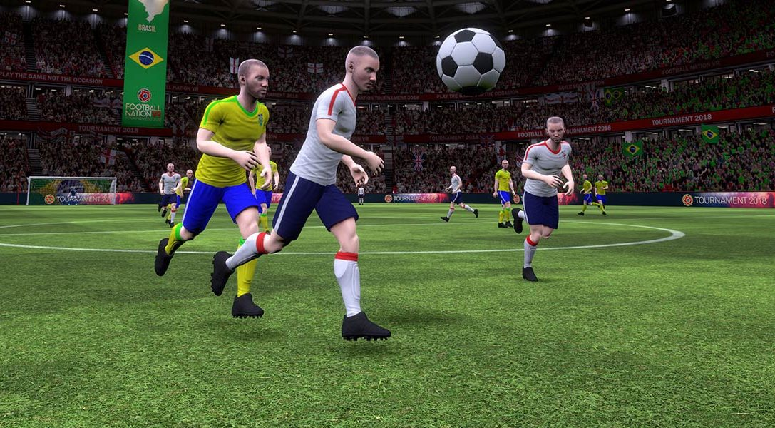 Football Nation VR 2018 is a huge World Cup-inspired update for VRFC, out next month