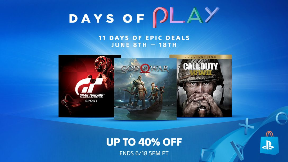 Days of Play Sale: Big Savings, Big Games