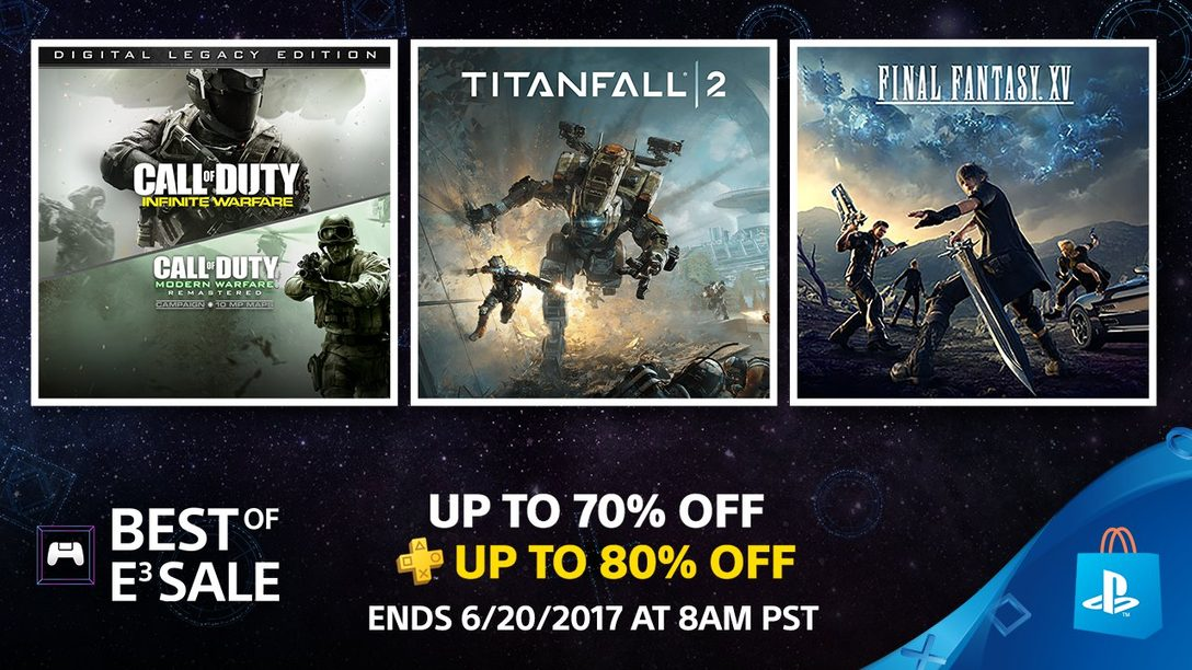 Best of E3 Sale: Save Up to 70% on Past Show Favorites