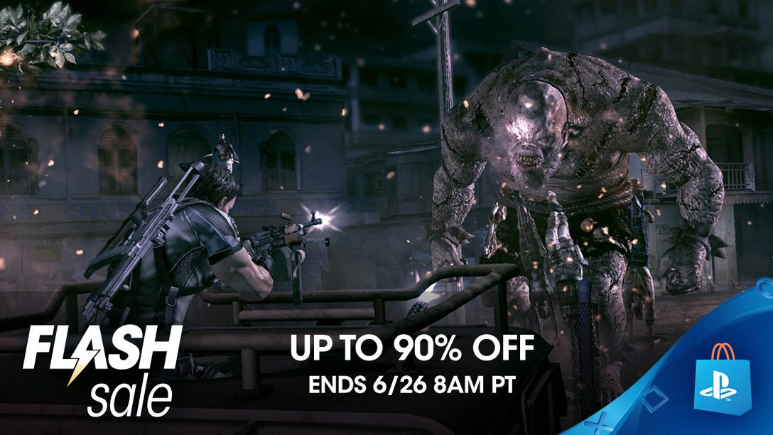 Co-op Flash Sale! Save up to 90% on Games to Play Together