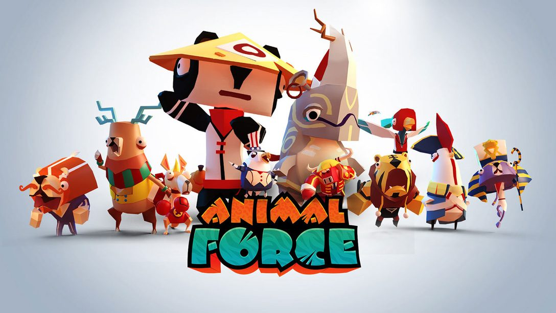 Have a Party While Saving the Planet in Animal Force for PS VR