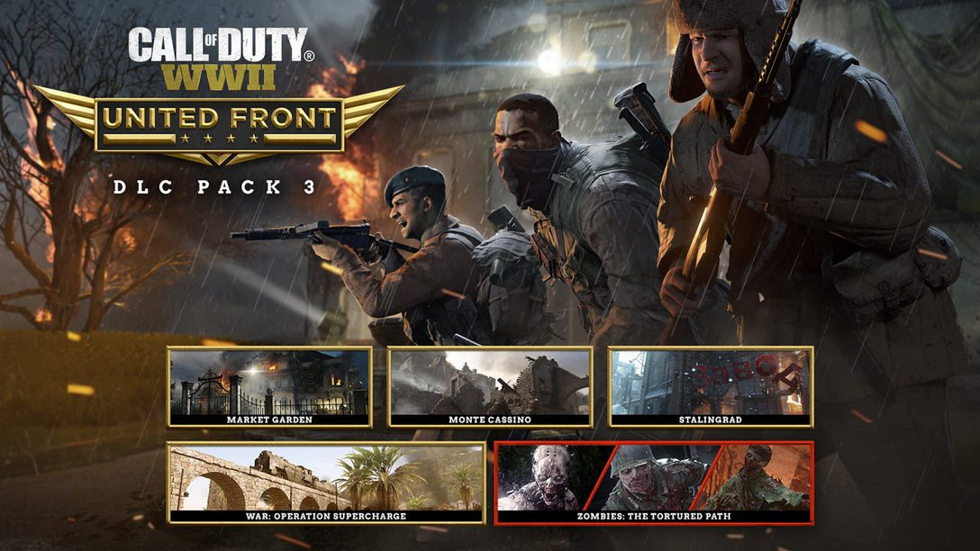 Announcing Call of Duty: United Front – the Third DLC Pack for Call of Duty: WWII