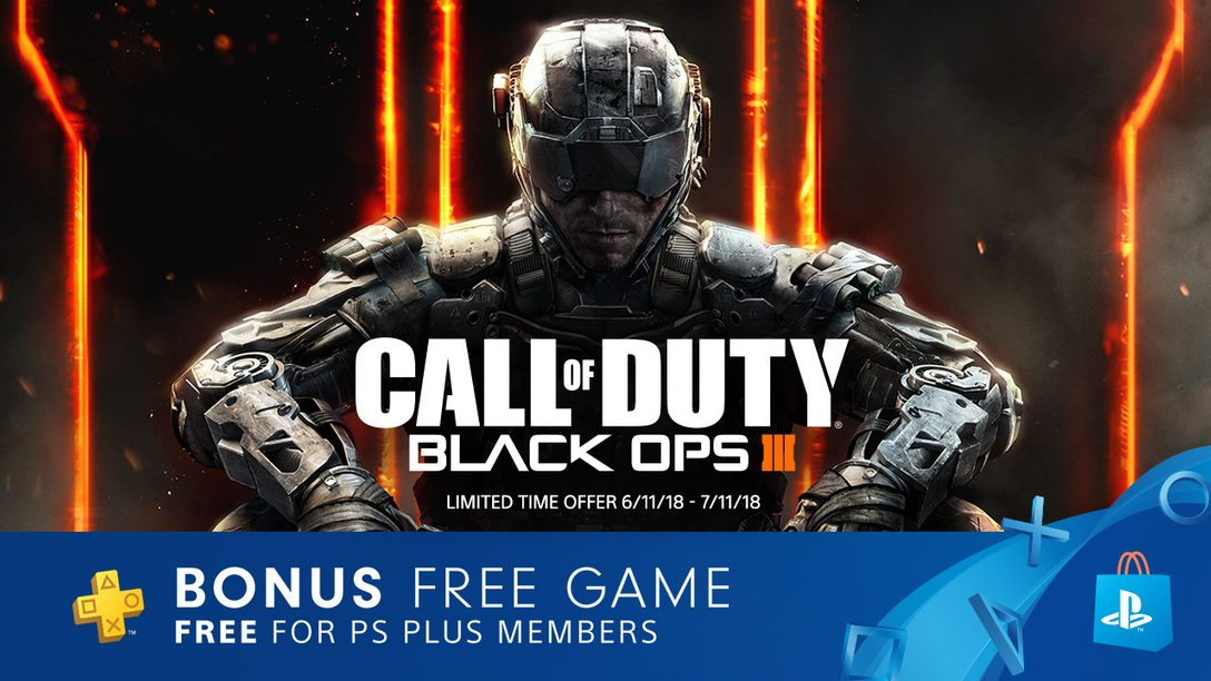Call of Duty: Black Ops 3 Joins PlayStation Plus Starting Tonight