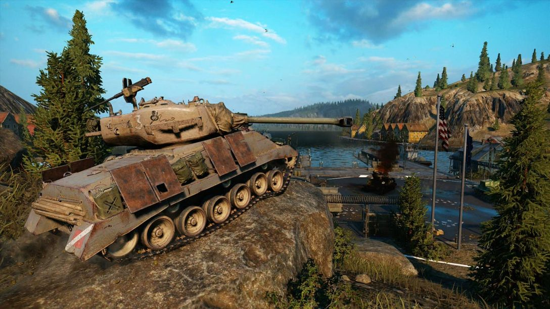 World of Tanks: Mercenaries Rolling To PS4 Today