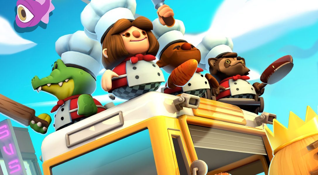Prepare for online kitchens and crazier chefs in Overcooked! 2, out 7th August on PS4