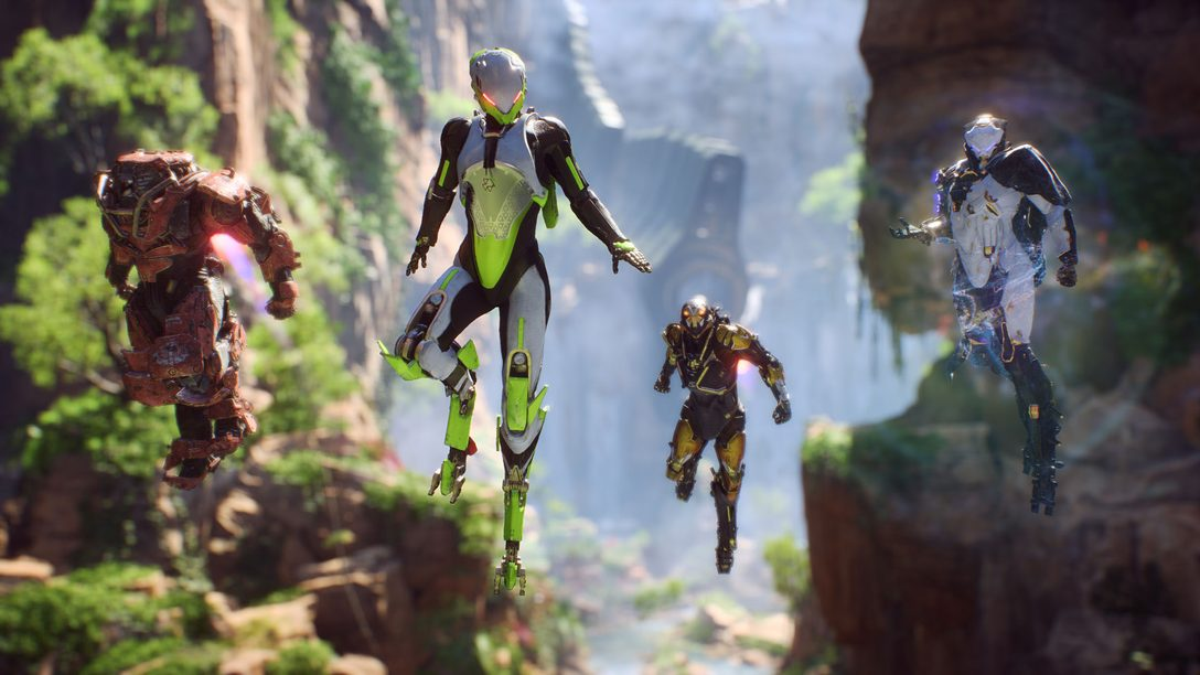 BioWare's huge living-world shooter Anthem has a PS4 release date