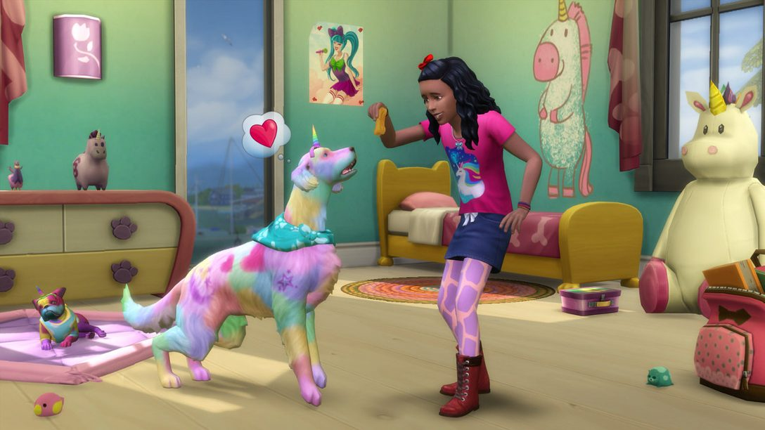 The Sims 4 Cats & Dogs Arrives Tomorrow on PS4