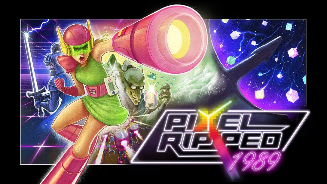 Retro-Infused Pixel Ripped 1989 Comes to PS VR Today