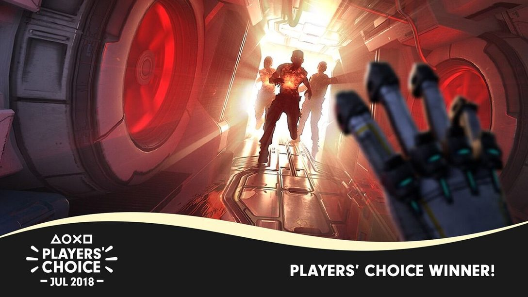 Players' Choice July 2018 Winner: The Persistence