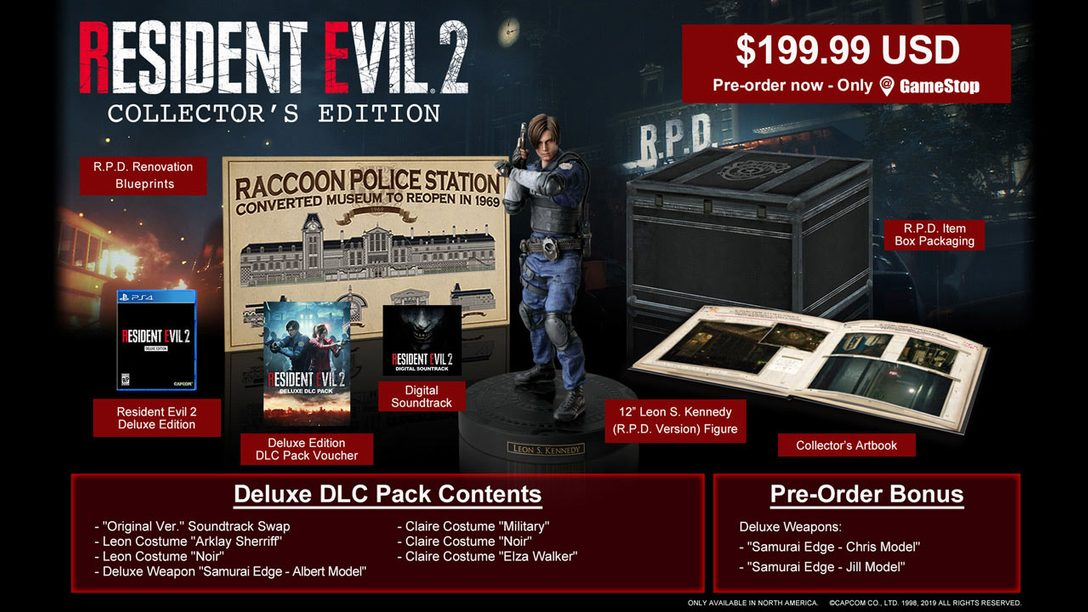 Resident Evil 2: Collector's Edition First Look, New Dev Details from Comic-Con