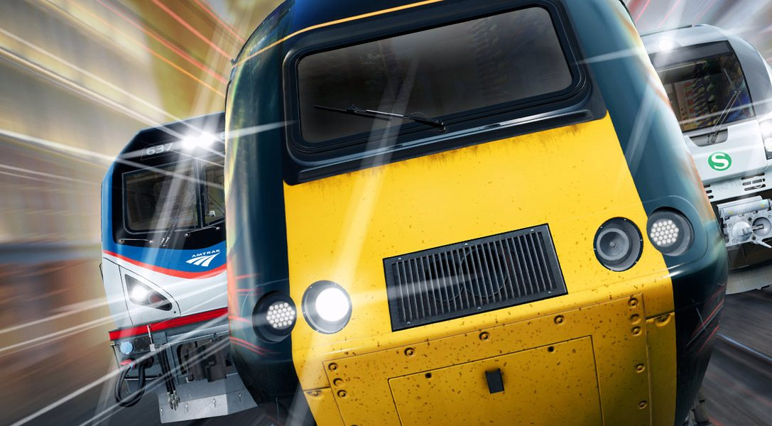 Drive multiple locomotives, complete unique challenges and more in Train Sim World, out today on PS4