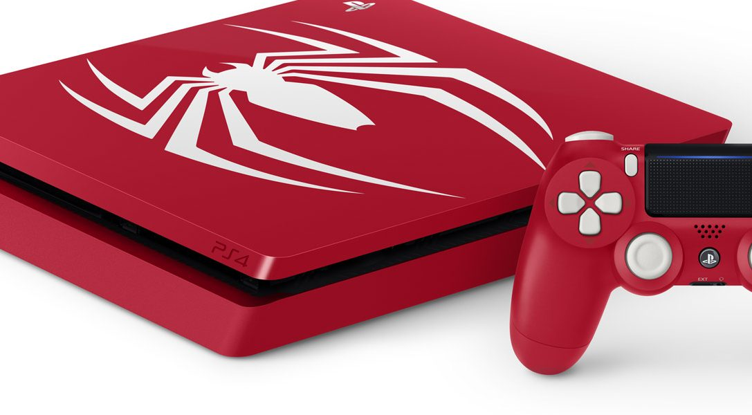 Introducing the Limited Edition Marvel's Spider-Man PS4 Pro and PS4 bundles