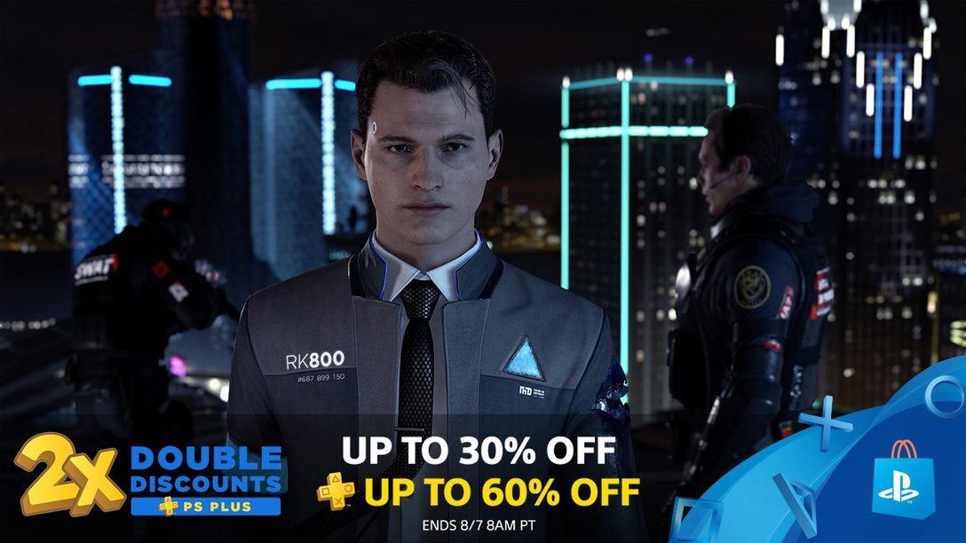 PS Plus Double Discounts Deliver Savings Up to 60%