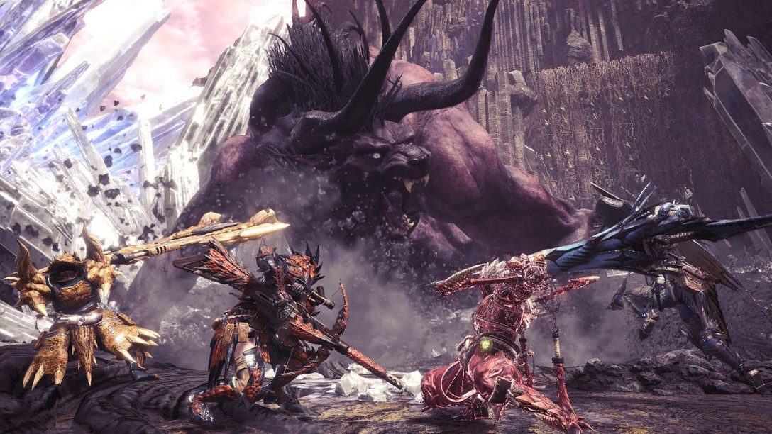 Monster Hunter: World Adds MMO Mechanics in its FFXIV Collaboration, Live Today