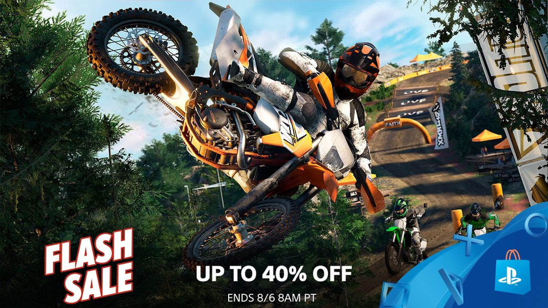 Flash Sale! Save Up To 40% This Weekend