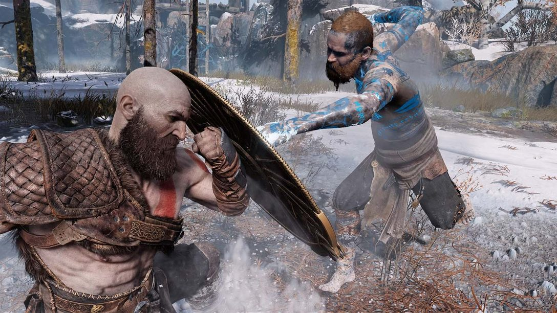 Fighting a God: Behind the Scenes of God of War's First Boss Battle