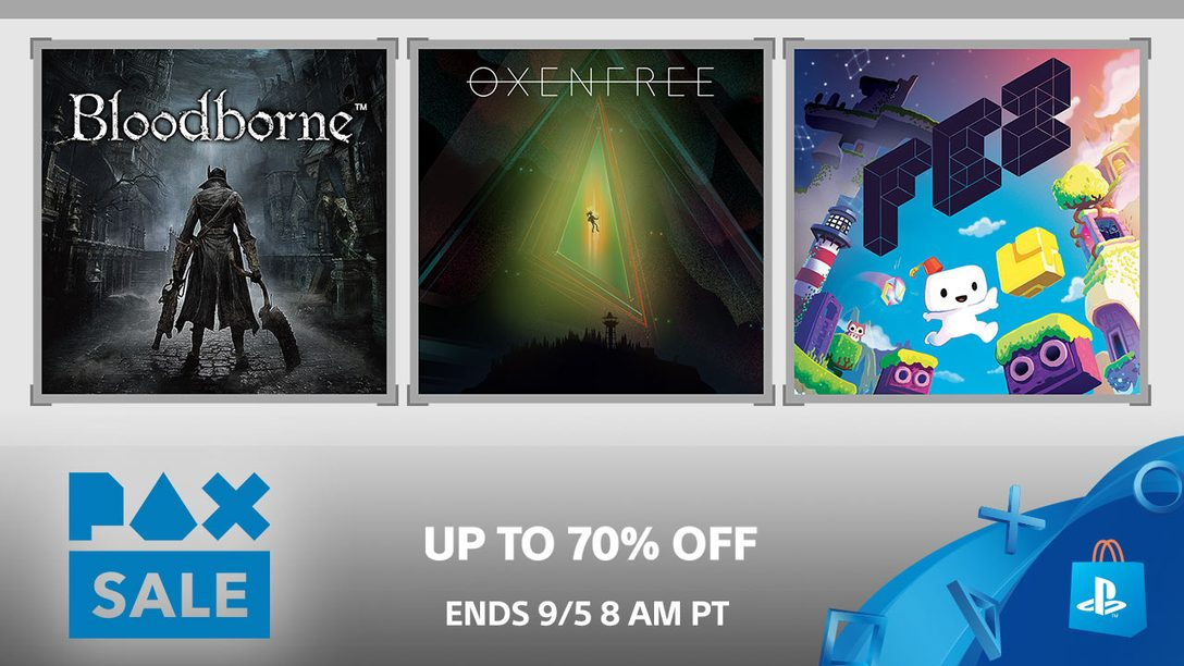 PAX Sale: Up to 70% Off Fan Favorites