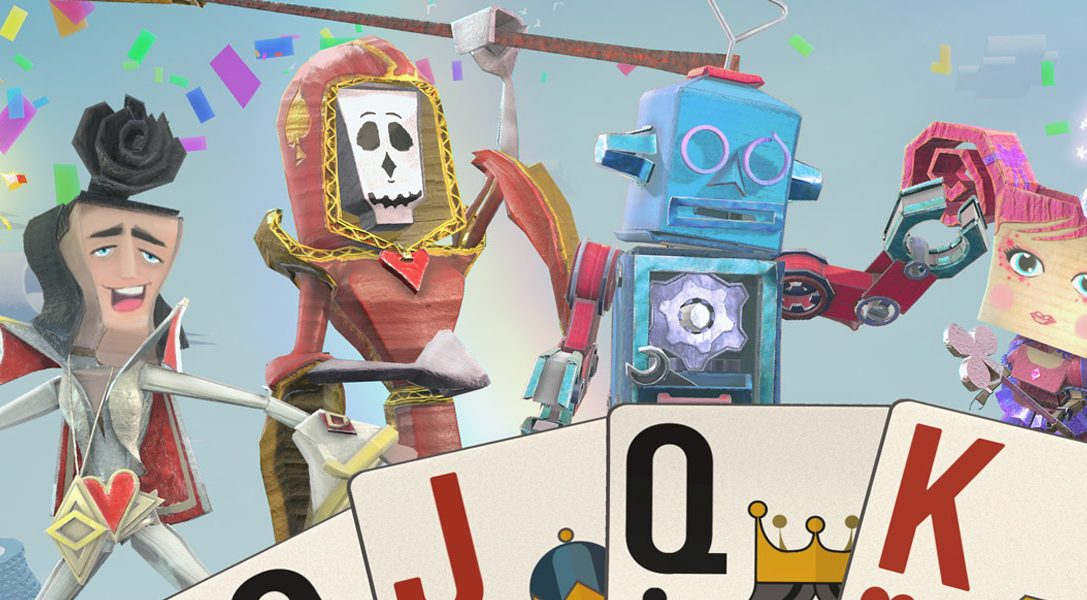 Card-based party game Just Deal With It! joins the PlayLink for PS4 range this November