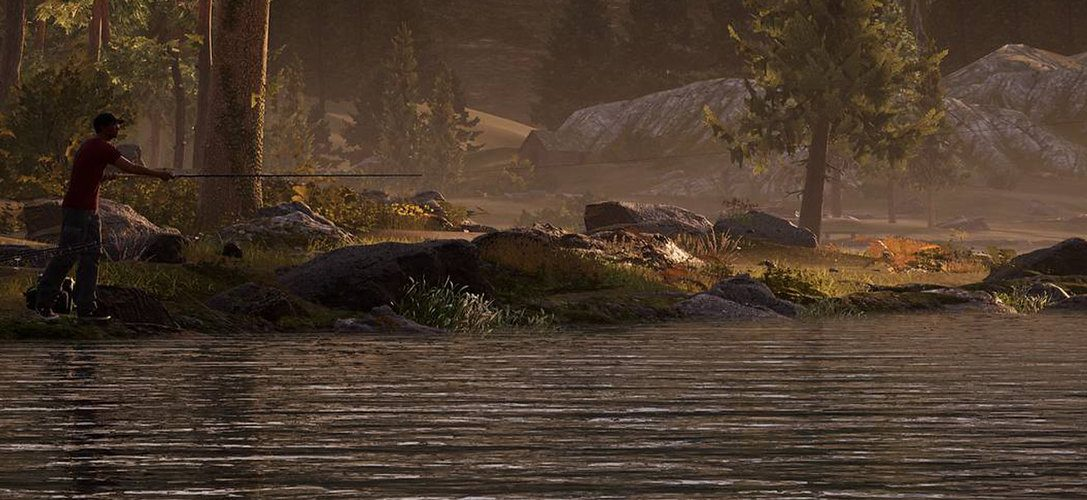 Angle for global multiplayer glory in Fishing Sim World, out 18th September on PS4