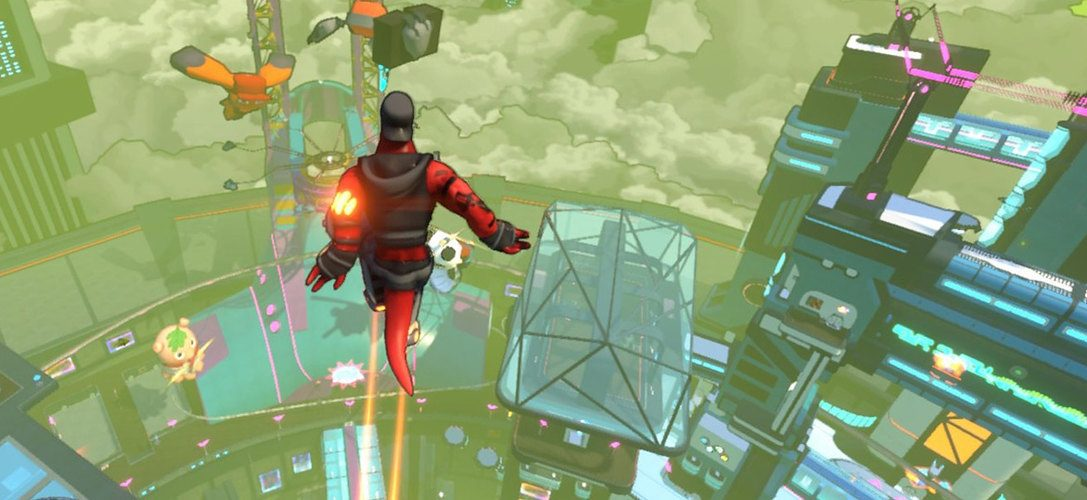 Multiplayer parkour game Hover drops onto PS4 next month