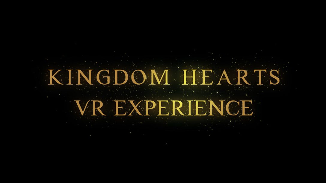 Free Kingdom Hearts VR Experience Coming to PS VR This Holiday