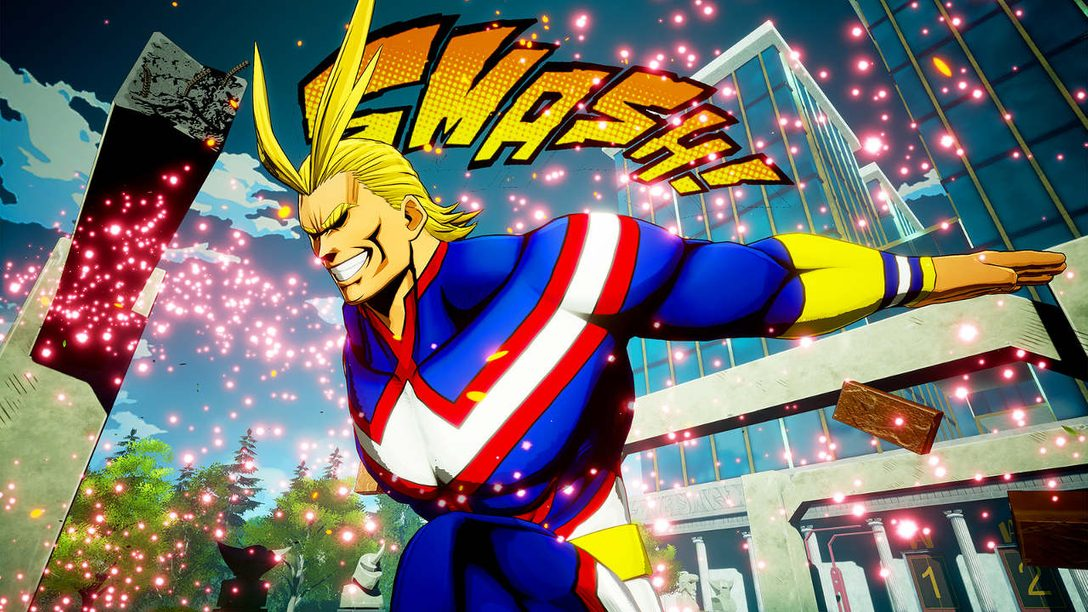 Adapting Manga Phenomenon My Hero Academia into a PS4 Brawler