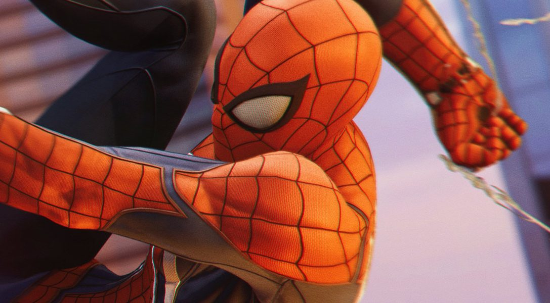 Marvel's Spider-Man swings into stores today for PS4