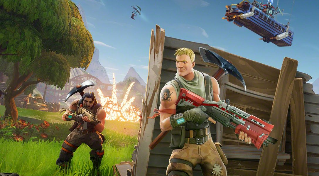 Extended Fortnite cross-play beta launches on PlayStation 4