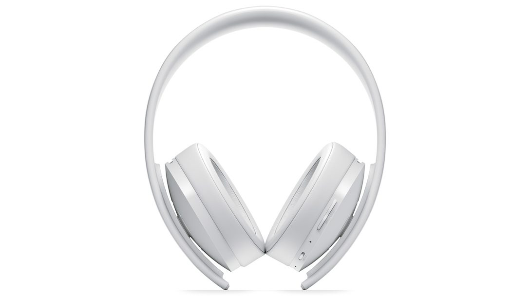 PlayStation Gold Wireless Headset Gets New White Version
