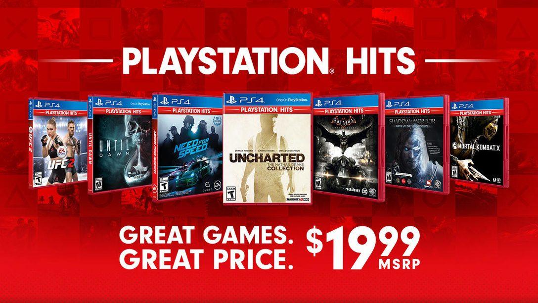 New Games Join the PlayStation Hits Lineup November 2