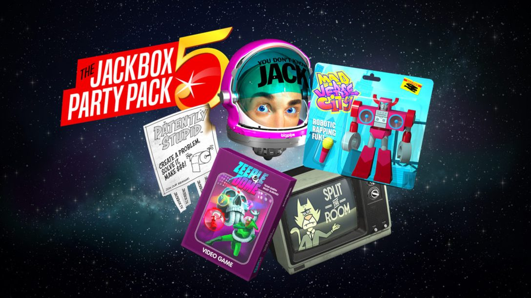 The Jackbox Party Pack 5 Hits PS4 October 16
